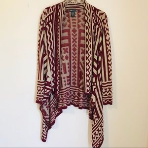 Wet Seal open front cardigan size XL